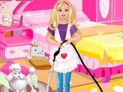 تنظيف غرفة باربي